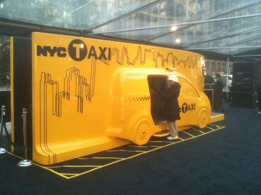 NYC Taxi of Tomorrow!