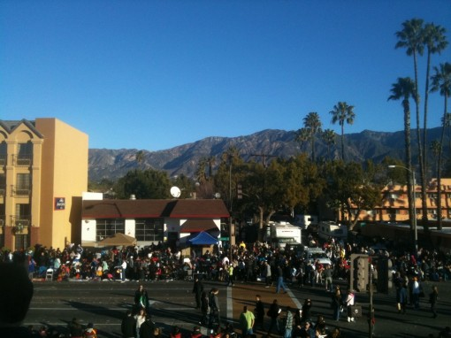 Rose Bowl Parade!