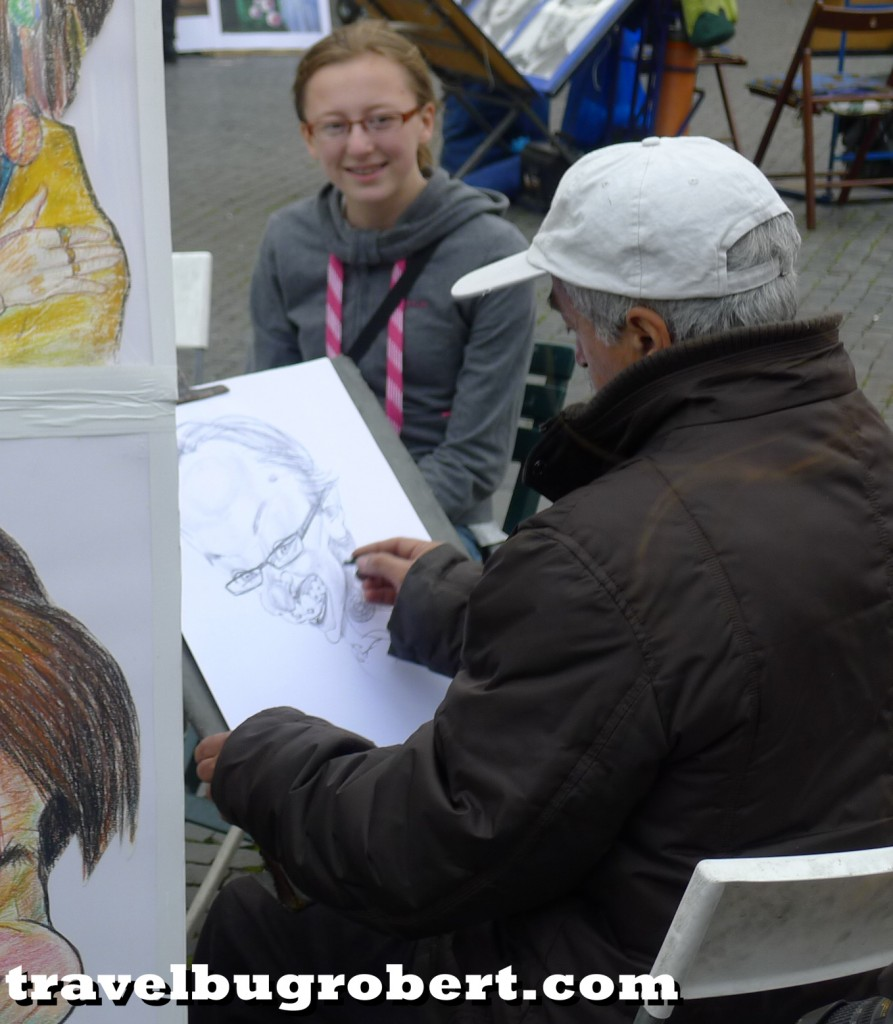 Rome, Italy caricaturist
