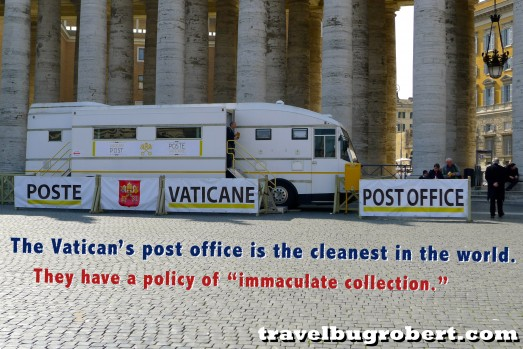 Rome Italy Vatican mail